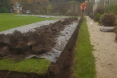 Manual dig Trenches